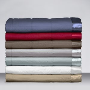 Espresso Feather & Down Blankets by Birmi