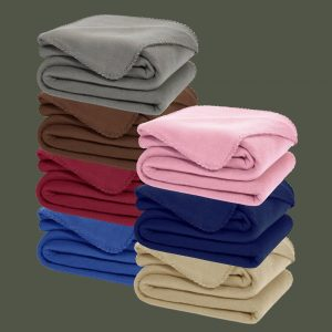 Solid Color Polar Fleece Blanket in panipat by birmi