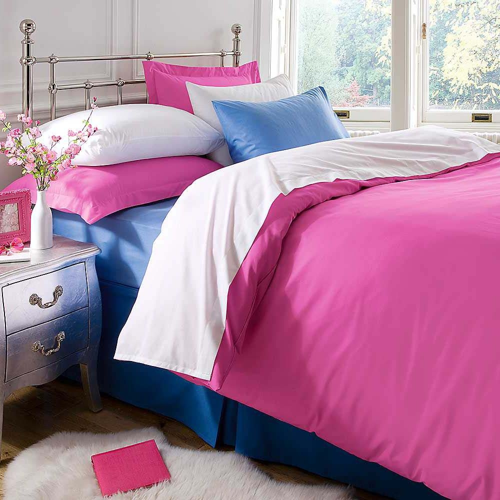 Plain Bed Sheet by birmi